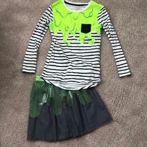 Size 7/8 Slime Girl costume.
